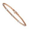 Pink Gold Diamond Bracelets